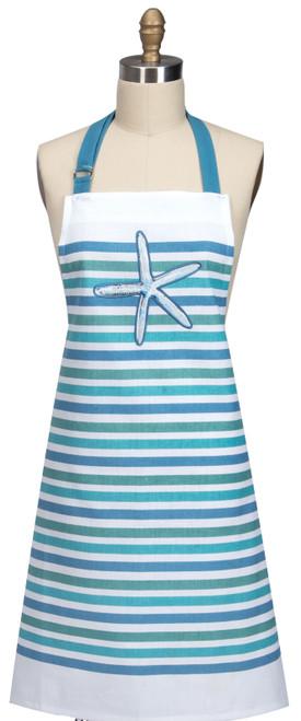 Beach House Inspirations Sea Star Hostess Apron - R3281