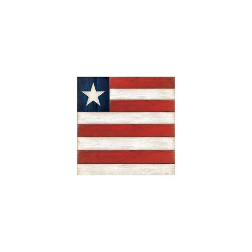 Big Stripe Flag 40 count 3ply - Cocktail Napkin - Z4NC6783