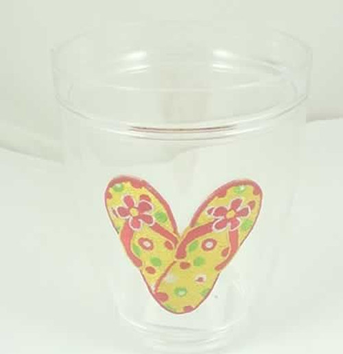 "Flip Flops ""Block Party"" Insulated 12 oz. Tumbler Cup - 55750"