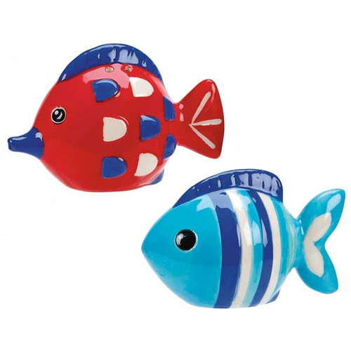 Something Fishy Salt & Pepper Set 56072
