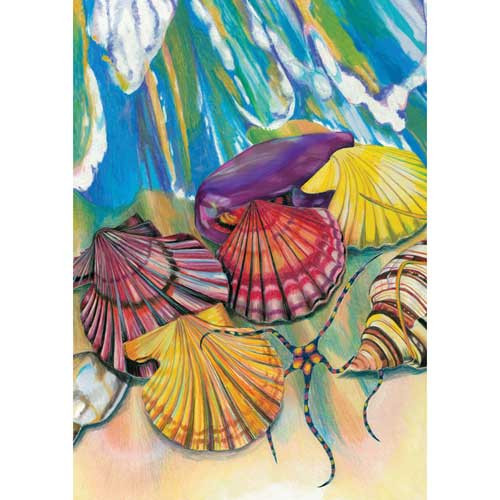 Beach Bounty Garden Flag 112571