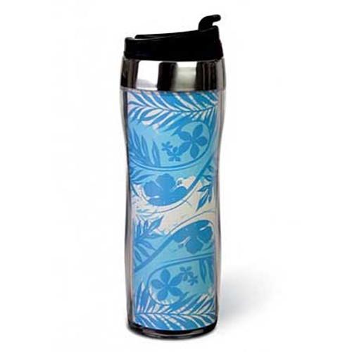 Tropical Blue Sleek Tumbler Mug 02159000
