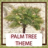 Palm Tree Theme Gifts & Tropical Beach Decorations