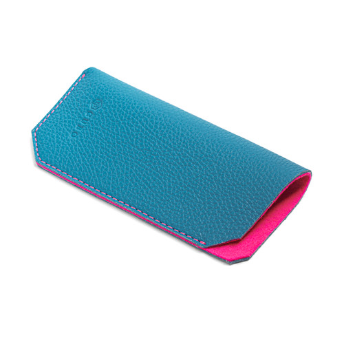 Leather case Blue