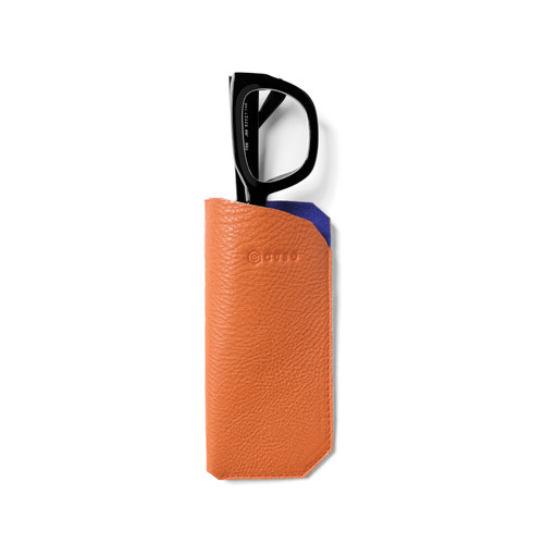 Leather case Orange