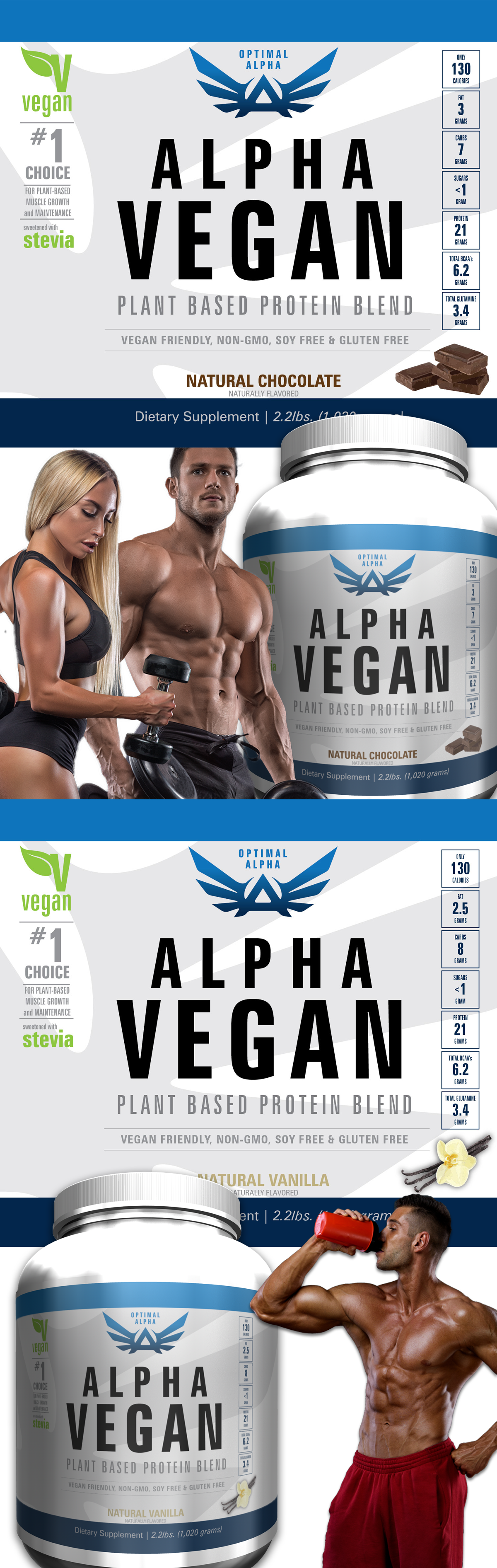 Plant Based Vegan Gainz at IMSOALPHA