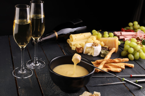 1 Hour Cheese & Champagne Tasting