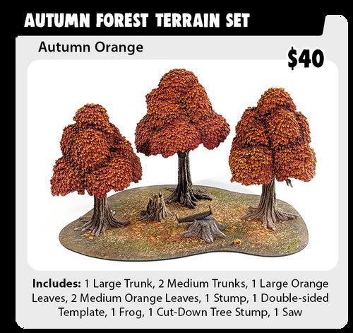 Monster Terrain Autumn Forest Set