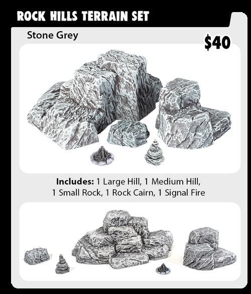 Monster Terrain - Rock Hills Set