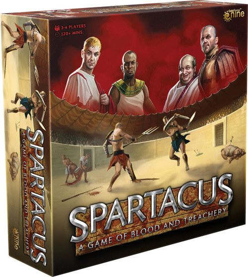 Spartacus: A Game of Blood and Treachery (2020 Edition)
