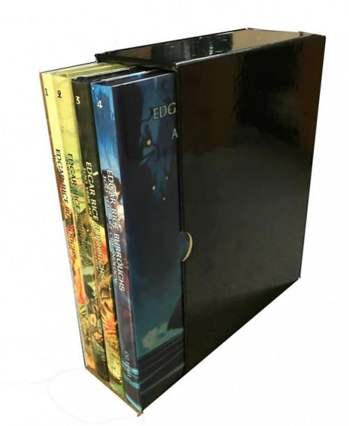 Edgar Rice Burroughs: 100 Year Art Chronology (4 Volume, Hardbacks, Slipcase)