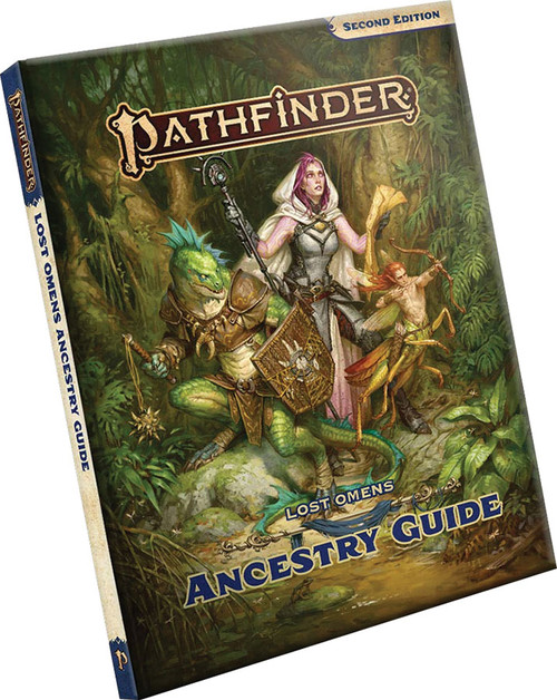 Pathfinder RPG: Lost Omens - Ancestry Guide Hardcover