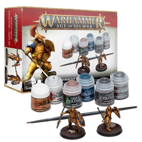Stormcast Eternals Paint Set