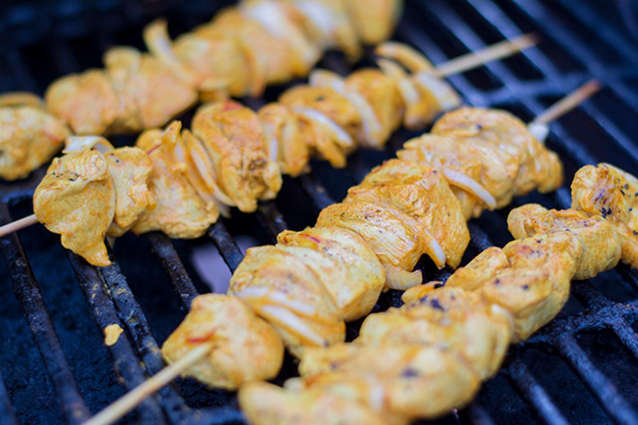 Grass Fed Organic Chicken Breast Shish Kebab