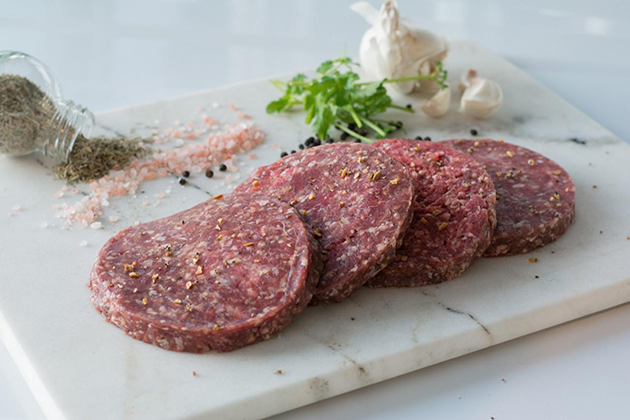 Organic Burger Patties (Package of 12)