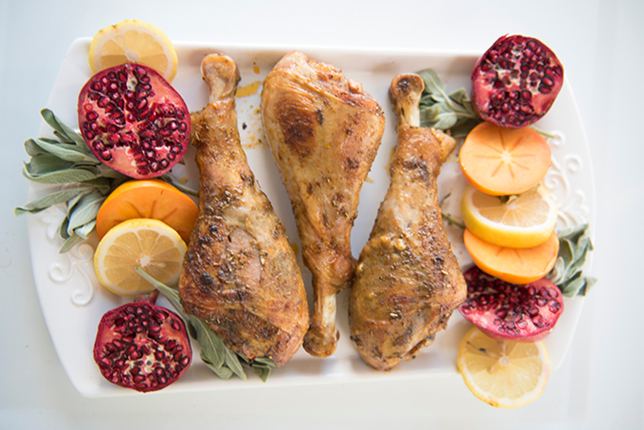 Organic Cooked Turkey Drumstick