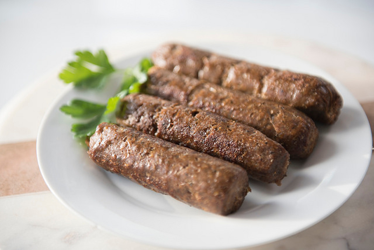 Smoked Merguez Sausage Organic 100% Grass Fed
