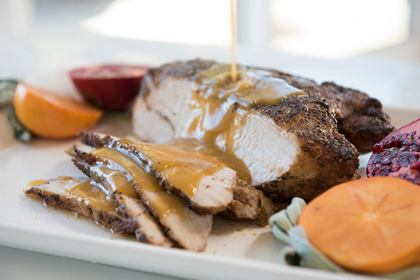 Halal Cooked Turkey Breast and Gravy