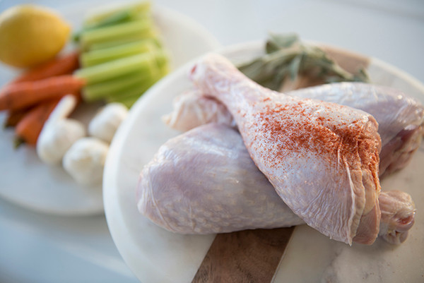 Halal Raw Turkey Drumstick