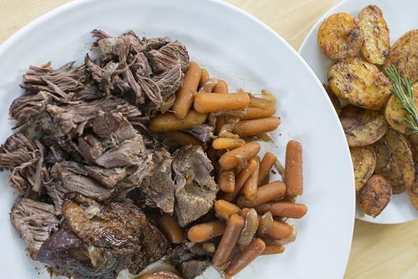 100% Grass-fed, organic and halal Chuck Roast