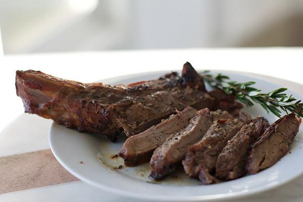 Organic Ribeye Steak Sliced
