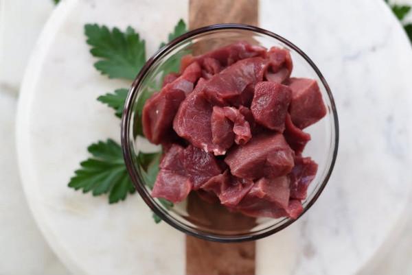 Beef Stew Boneless Organic 100% Grass Fed