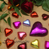 Bohemein Small Hand Foiled Hearts