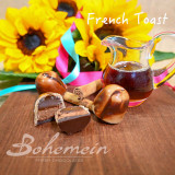 Mother's Day 2021 - French Toast - Cinnamon Caramel + Maple Cream in GOLD chocolate shell with DARK chocolate marble finish