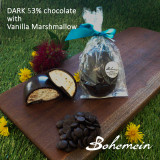 Bohemein Vanilla Marshmallow Egg in Dark 53% chocolate