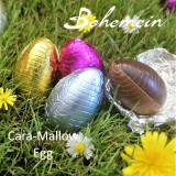 Bohemein Cara-Mallow filled mini Egg. Child friendly Egg full of fun, flavour  and texture.