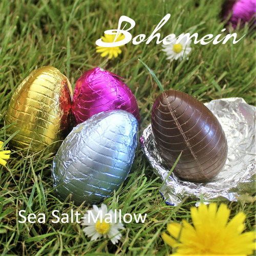 Bohemein Sea Salt-Mallow filled mini Egg.  Ready to Enjoy