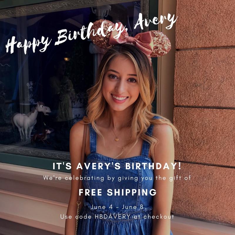 Happy Birthday, Avery!