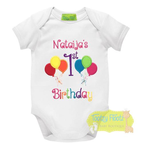 Bright Balloon Themed Birthday