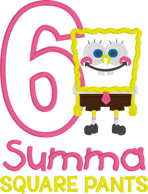 Spongebob Square Pants Inspired Birthday (Pink)