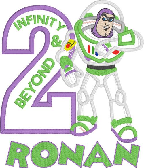 Buzz Inspired (Two Infinity & Beyond) Birthday