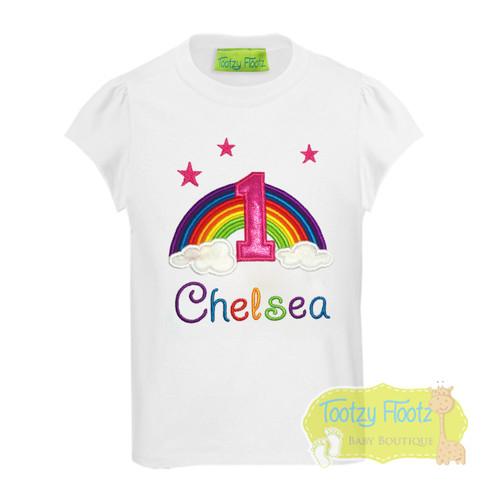 Rainbow Themed with Stars Birthday