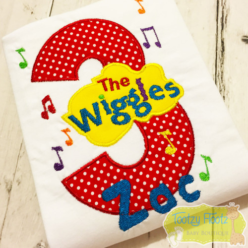 Wiggles Inspired Birthday