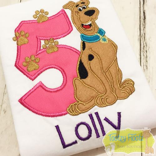 Scooby Doo Inspired Birthday