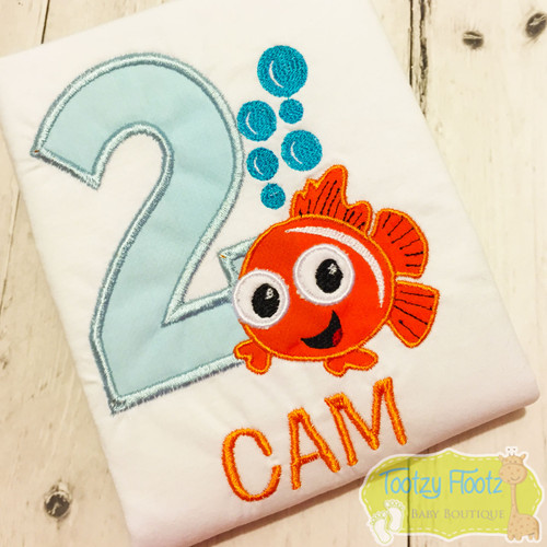 Finding Nemo Inspired Birthday