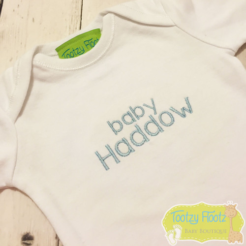 Personalised Name (Baby Blue)