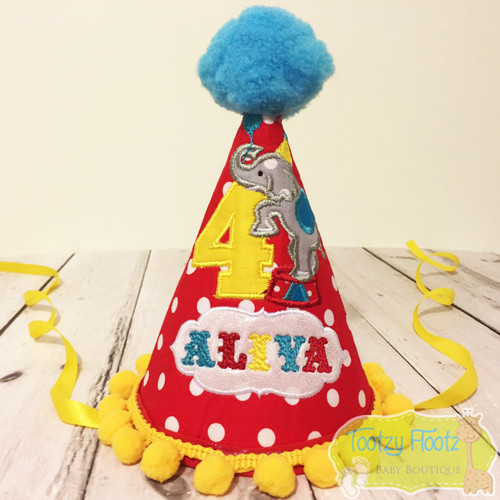 Circus Elephant Themed Party Hat