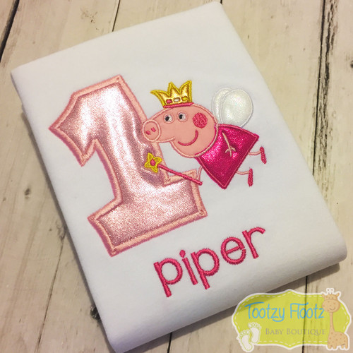 Peppa Pig Princess Inspired Birthday