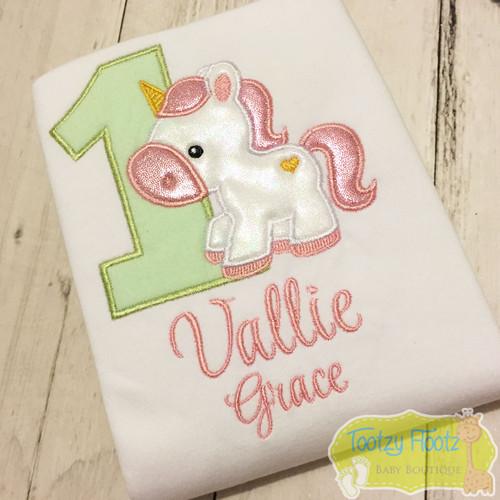 Unicorn Themed Birthday (Mint & Baby Pink)