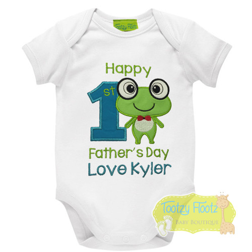 First Fathers Day - Froggie Design