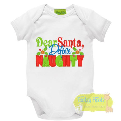 Christmas - Santa, Define Naughty