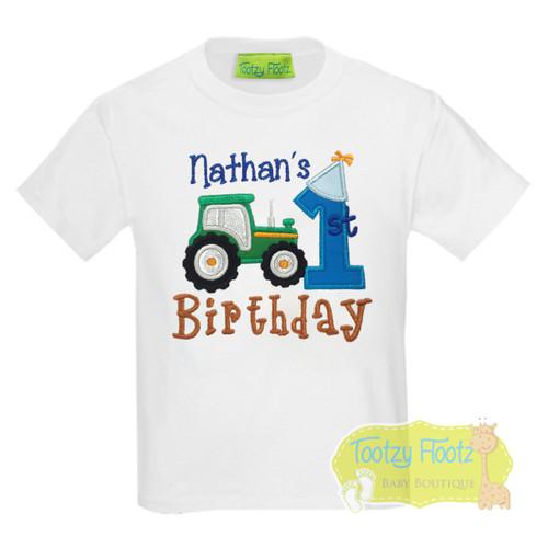 Farm Tractor Themed Birthday