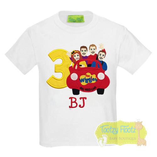 Wiggles (Big Red Car) Inspired Birthday