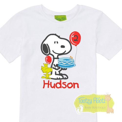 Snoopy - Charlie Brown inspired Birthday