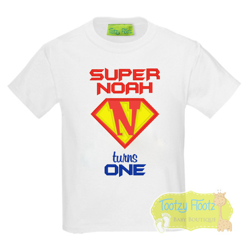 Super Hero Style Initial Logo with mini cape