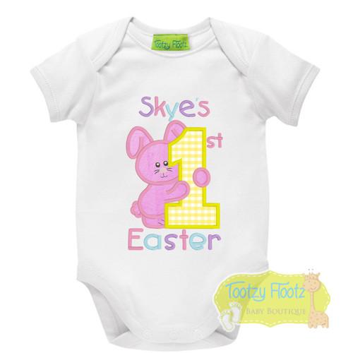 Easter - Bunny Hugging 1 (Pink)